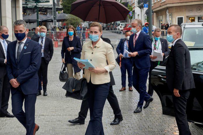 Cumbre. En el hotel Sofitel, de Bruselas, se lleva a cabo el primer encuentro con carácter presencial de 2021. Foto Archivo.