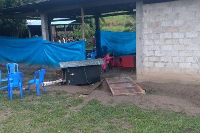 El lugar donde ocurrió la masacre adjudicada a Sendero Luminoso. (Foto: El Comercio de Perú)
