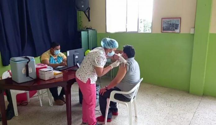 Los colegios Sagrado Corazón, Cristo Rey y María Auxiliadora siguen como puntos de vacunación.