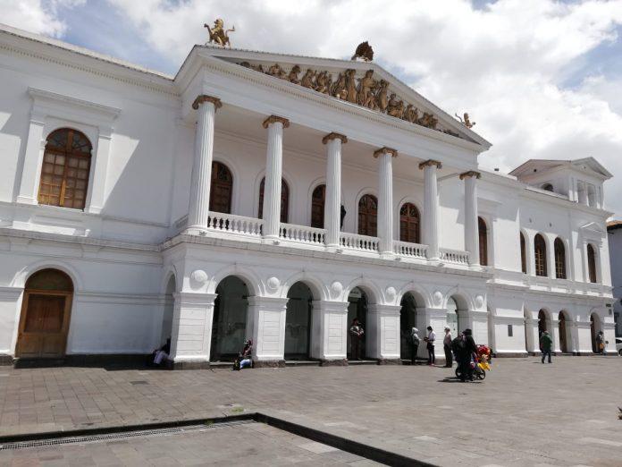 El Teatro Nacional Sucre es uno de los escenarios referentes en Quito. Su actividad se ha trasladado a lo virtual, aunque en menor cantidad.