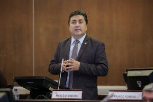 Exasambleísta. Marcelo Simbaña cumplió su periodo en el Legislativo en 2021. Ahora es gobernador de Imbabura.