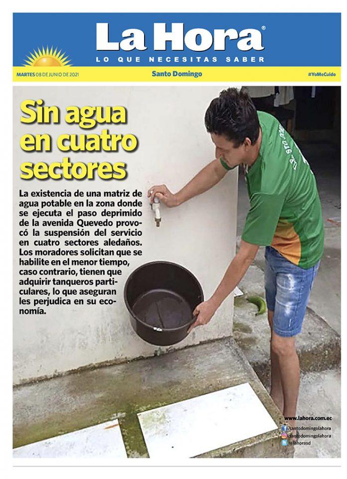 Santo Domingo: 08 de junio, 2021