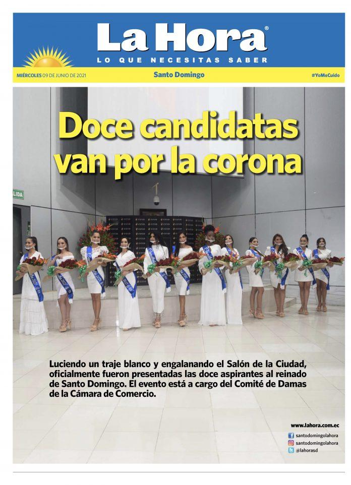 Santo Domingo: 09 de junio, 2021