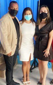 José Ojeda, Emily Plaza y Patricia Mendoza.