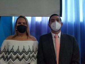 Rina Campaín y Eduardo Adame.
