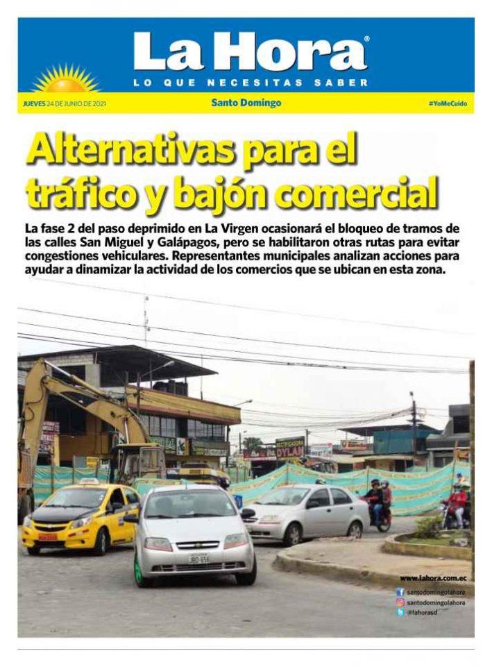 Santo Domingo: 24 de junio, 2021