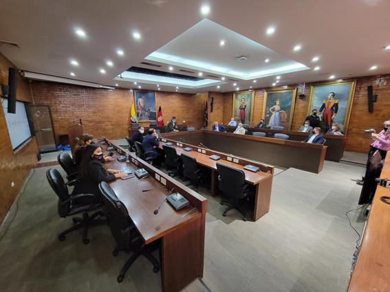 POLÉMICA. Este martes 13 de julio de 2021, el Concejo Metropolitano no sesionó ya que los ediles no acudieron a la convocatoria del alcalde Jorge Yunda.