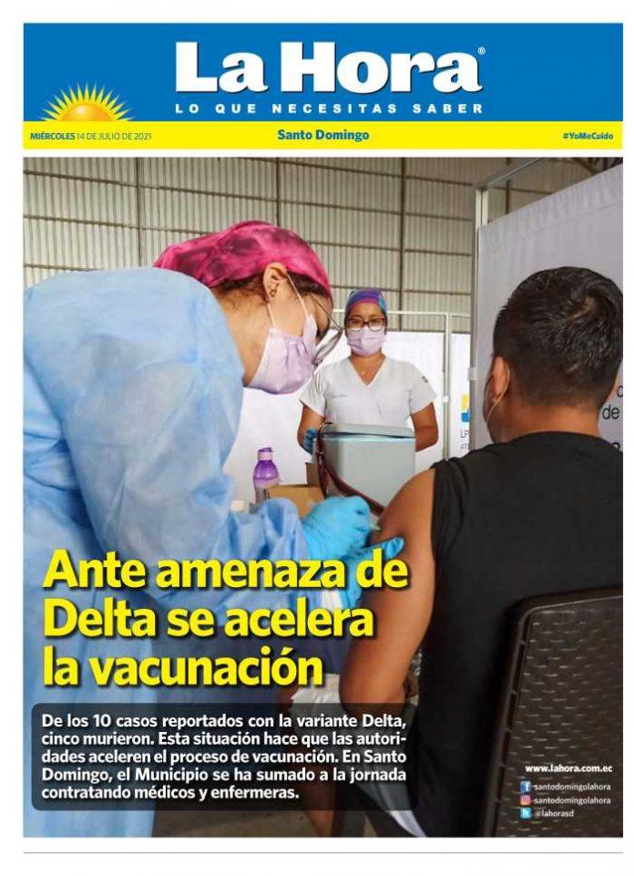Santo Domingo: 14 de julio, 2021