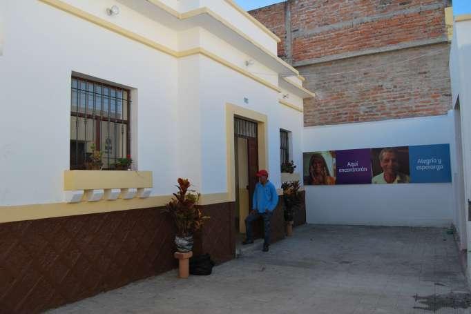 Sitio. El albergue se ubicaba en el centro de la ciudad, en la calle Olmedo.