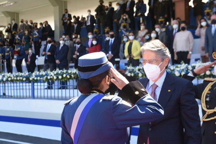 IGUALDAD. Tannya Varela, comandante general de la Policía Nacional, es la primera mujer en asumir este cargo.