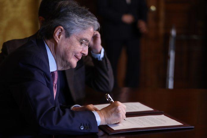 PLAN. El presidente Guillermo Lasso presentó su política petrolera a inicios de julio 2021
