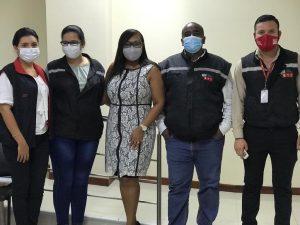 Alejandra Bastidas, Teresa Andrade, Jahaira Madrid, Jorge Angulo y Carlos Salmerón.