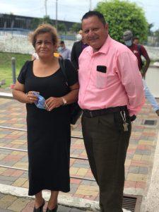 Eulalia Saquicela y Eddy Cervantes