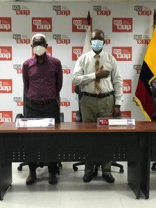 Félix Preciado y Orlando Tenorio.