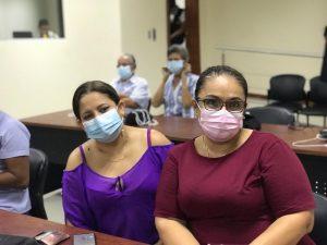 Juliana Navarrete y Wendy Rivadeneira
