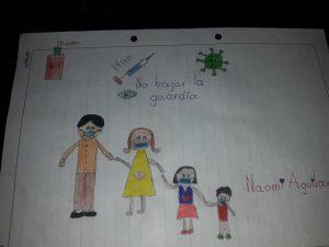Naomi Aguilar, 10 años