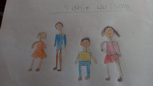Sair Husain, 5 años