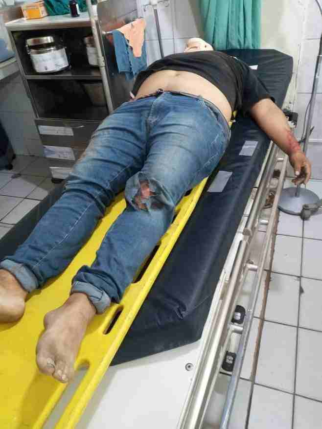 TRAGEDIA. Un motociclista murió en un choque frontal contra una tricimoto.
