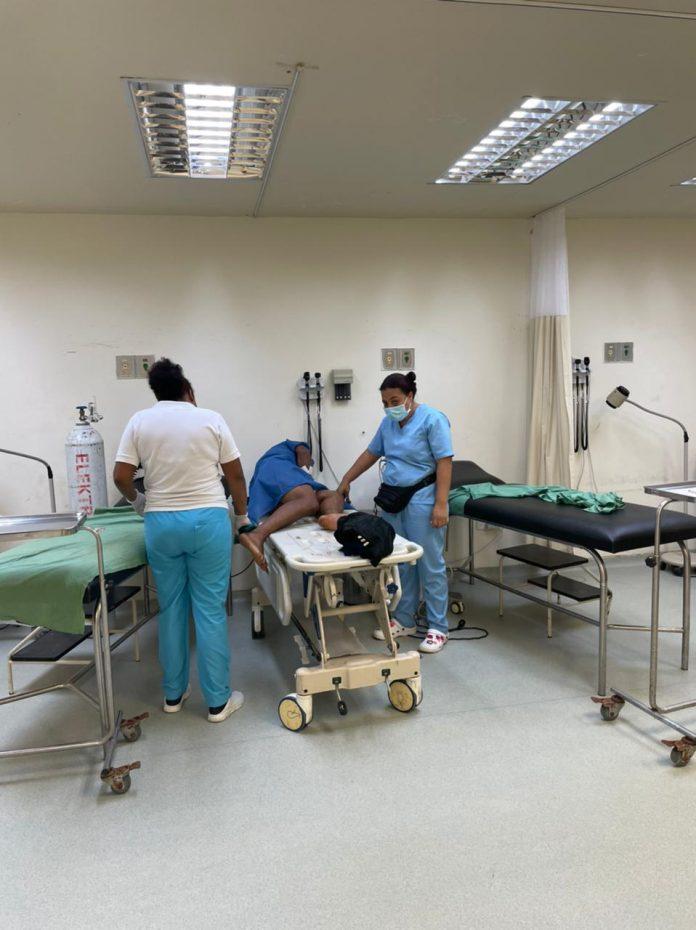 HERIDO. Alejandro C.C. perdió un testículo luego de que se accionara por accidente el arma de fuego que guardaba en su cintura.