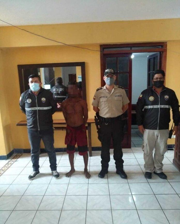 ACCIONES. La Dinased y la Unipen detuvieron a un hombre en Atacames por una supuesta agresión sexual.