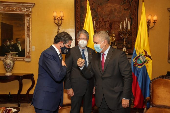 POSTURA. El presidente Guillermo Lasso busca fortalecer la relación de Ecuador con países que pueden ser sus aliados comerciales y políticos.