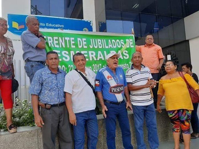 ESPERA. 218 maestros jubilados de la provincia de Esmeraldas aguardan a que el Gobierno cumpla con el incentivo económico tras finalizar sus años de servicio.