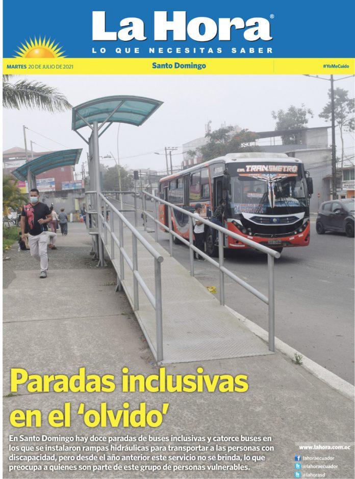 Santo Domingo: 20 de julio, 2021