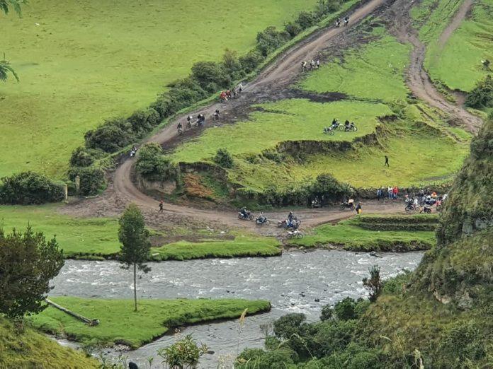 Caminos. Los pasos fronterizos se usan a diario ilegalmente, pues la frontera norte está cerrada desde marzo de 2020.
