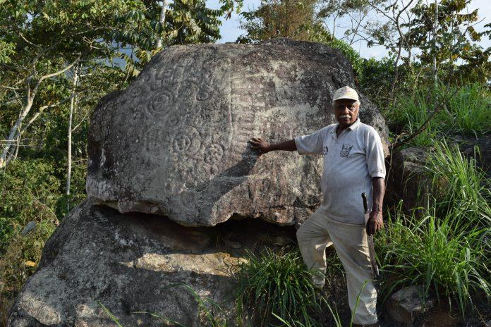 En Pasaje hallan roca con talladuras incas