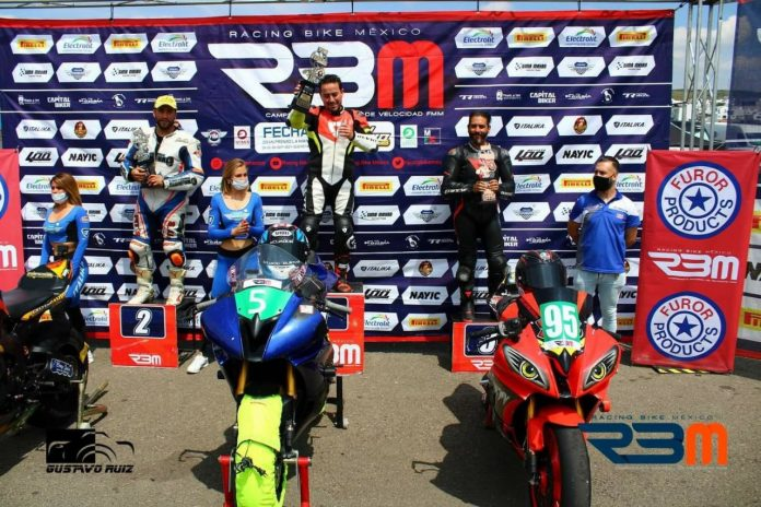 Eduardo Ruilova alcanzó podio en México