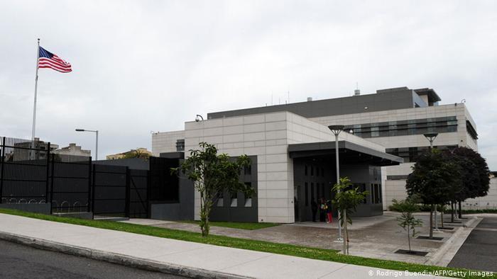 La embajada de Estados Unidos en Quito