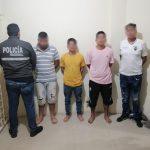 PRECEDENTE.. Los detenidos no registran antecedentes penales.
