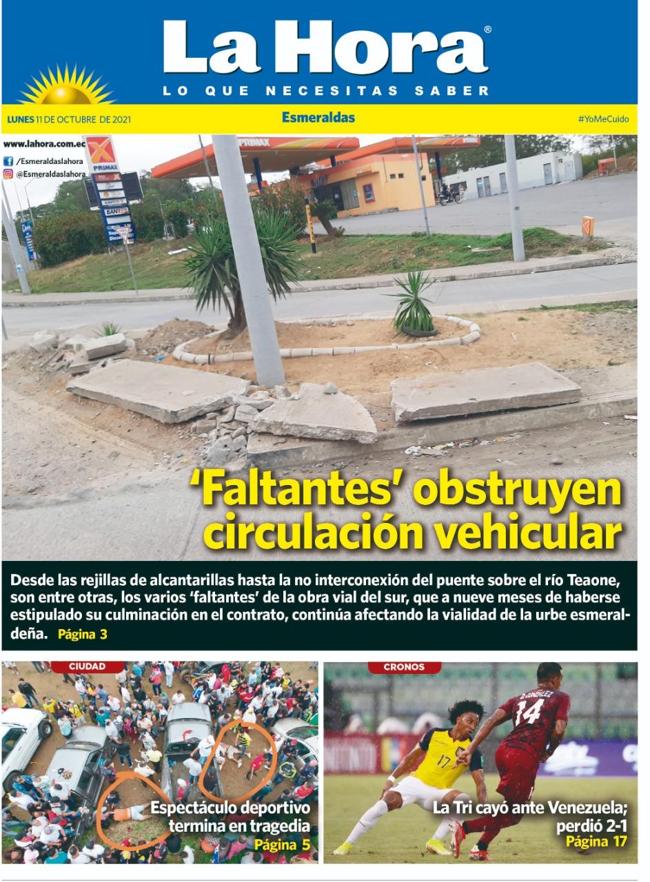 Esmeraldas: 11 de octubre