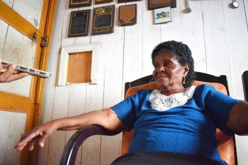 REFERENTE. Petita Palma es una de las difusoras de la cultura afroesmeraldeña más importantes de la provincia de Esmeraldas.