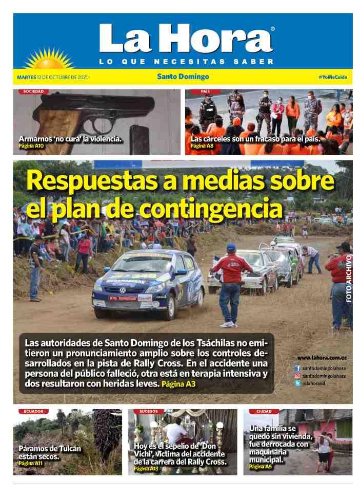 Santo Domingo: 12 de octubre, 2021