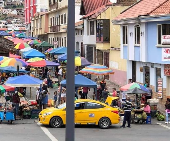 Feria libre de San Sebastián no volverá a funcionar