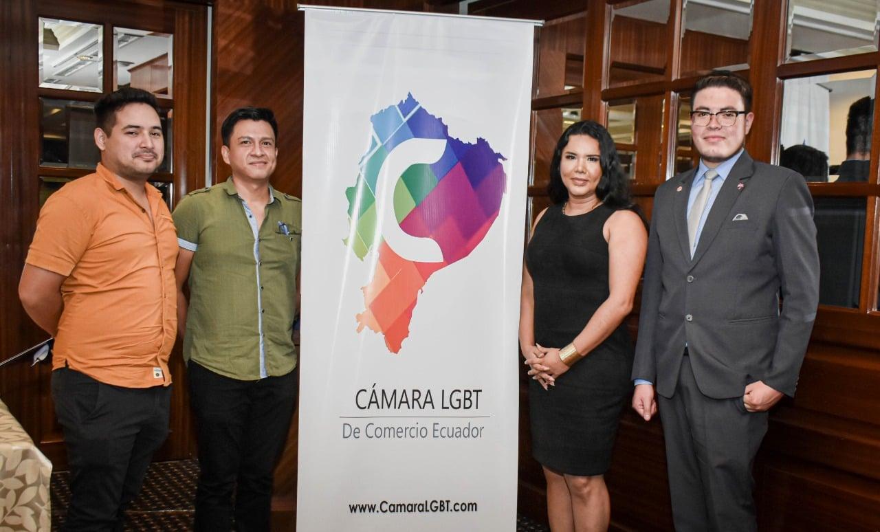 TRABAJO. La Cámara de Comercio Lgbtiq+ del Ecuador se legalizó en 2018.