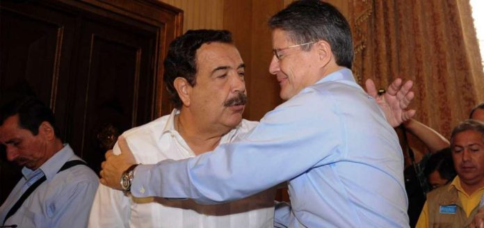HECHO. Jaime Nebot apoyó la candidatura de Guillermo Lasso
